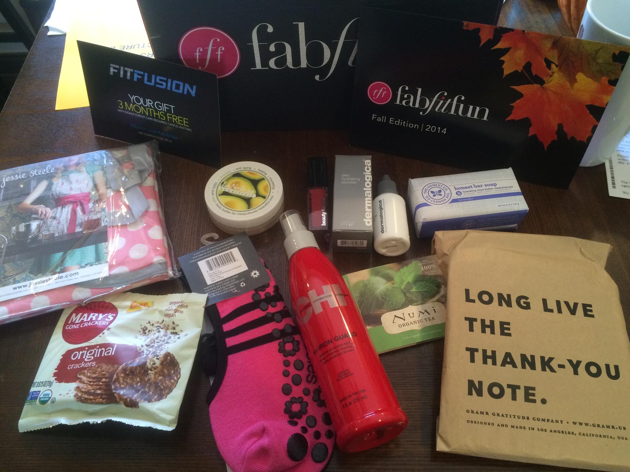 Fabfitfun VIP Fall 2014 Box Review!