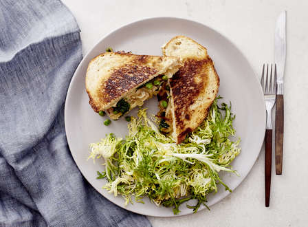 menu_small__Salsify__Pea__and_Sweet_Onion_Gruyere_Paninis_with_Frisee_Salad_THUMB