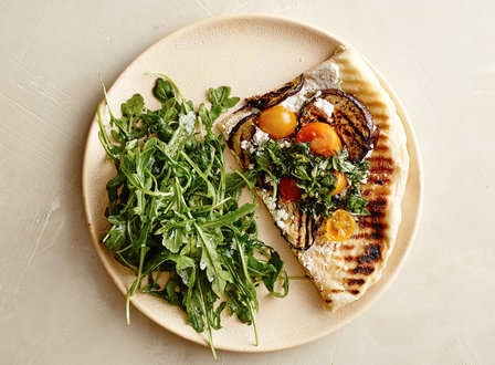 menu_small_Grilled_Pizza_with_Ricotta__Eggplant__Cherry_Tomatoes__and_Basil_Pistou_THUMB