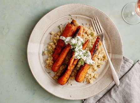 menu_small_Grilled_Spice-Rubbed_Carrots_with_Quinoa__Dill__and_Buttermilk-Chive_Vinaigrette_THUMB