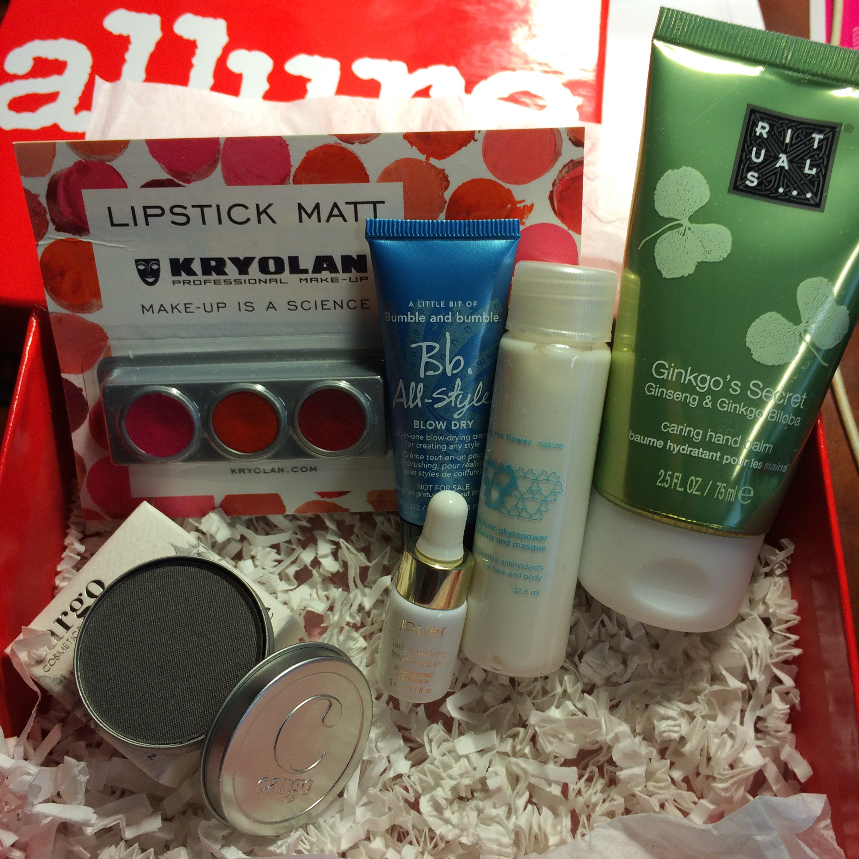 Allure Beauty Box (formally Sample Society) October 2015 ...